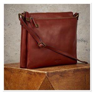 MARGOT New York 'Leith' Genuine Leather Crossbody